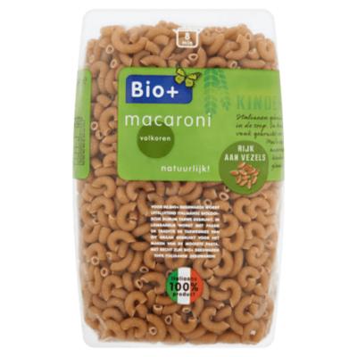 Bio+ macaroni volkoren