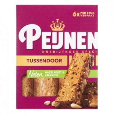 Peijnenburg Ontbijtkoek tussendoor noten per stuk