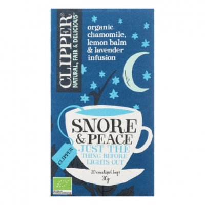 Clipper Snore & peace tea 1-kops