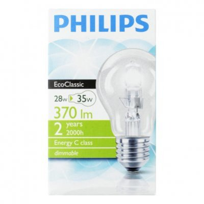 Philips Ecoclassic 30 helder 28W grote fitting