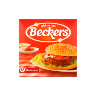 Beckers Hamburgers Voorgegaard