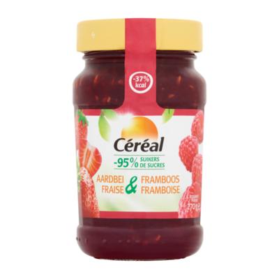 Céréal Minder Suikers Aardbei & Framboos