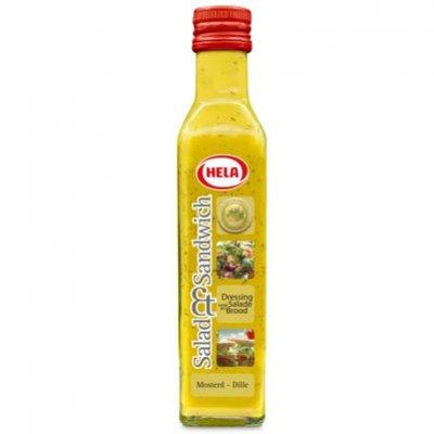 Hela Salad & sandwich mosterd/ dille dressing
