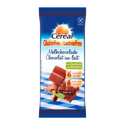 Céréal Glutenfree & Lactosefree Melkchocolade met Hazelnoot