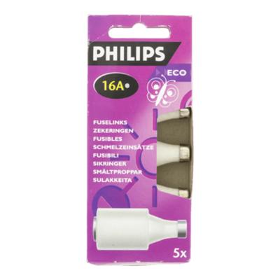 Philips Zekeringen 16 ampere 5 stuks