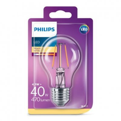 Philips Led warm white E27 40W 470 lumen