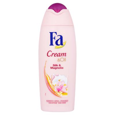 Fa Cream & Oil Silk & Magnolia Cream Bath 500 ml