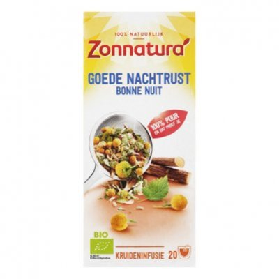Zonnatura Goede nachtrust thee