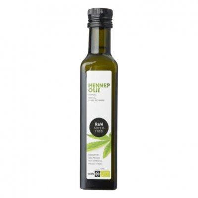 Raw Organic Food Hennep olie