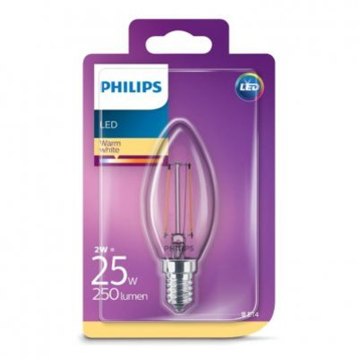 Philips Led kaars e14 25w