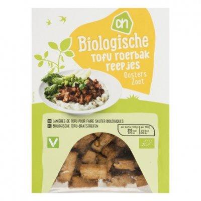 Huismerk Biologisch Tofu Oosterse roerbakreepjes zoet