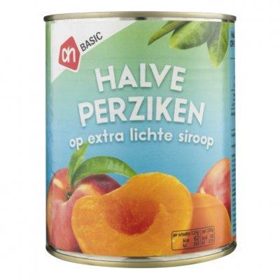 Budget Huismerk Halve perziken op siroop
