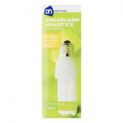 Huismerk Spaarlamp ministick 8W normale fitting