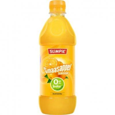 Slimpie Siroop sinaasappel 0% suiker