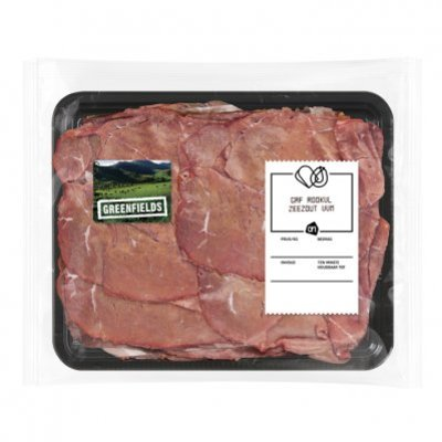 Huismerk Greenfields runder rookvlees