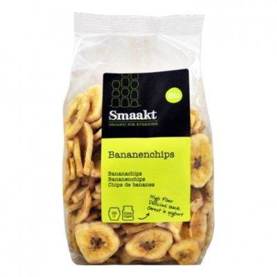 Smaakt Bananenchips biologisch