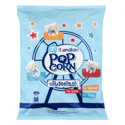 Huismerk Multipack popcorn