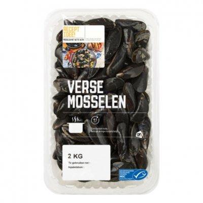 Huismerk Mosselen medium