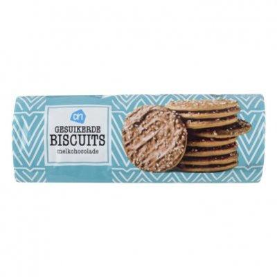 Huismerk Gesuikerde biscuits melkchocolade