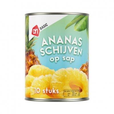 Budget Huismerk Ananasschijven op sap