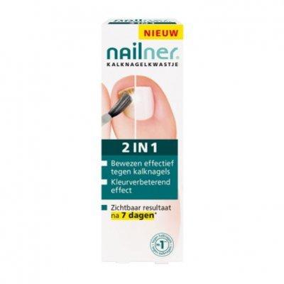 Nailner 2-in-1 brush