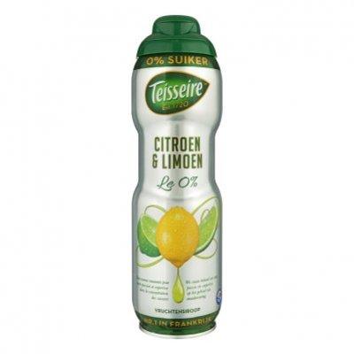 Teisseire Vruchtensiroop citroen-limoen 0% suiker