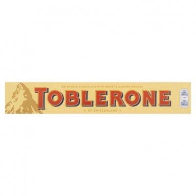Toblerone Reep melk honing amandel