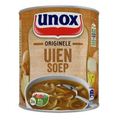 Unox Soep in blik stevige uiensoep