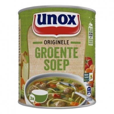 Unox Soep in blik stevige groentesoep