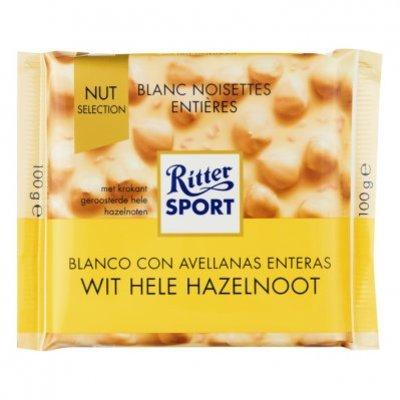 Ritter Sport Nut selection wit-hazelnoot