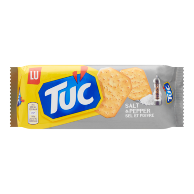 Tuc Crackers Salt en Pepper Zoutjes