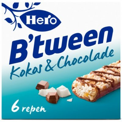 Hero B'tween granenreep kokos & chocolade