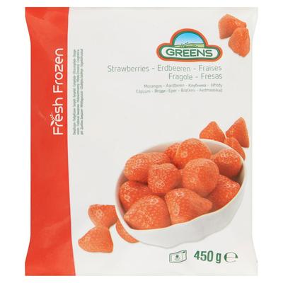 Greens Aardbeien 450 g