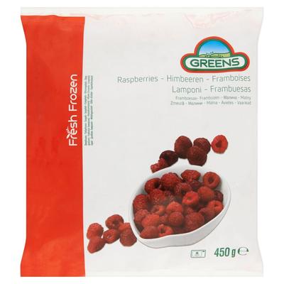 Greens Frambozen 450 g