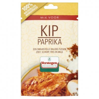Verstegen Kruidenmix voor kip met paprika