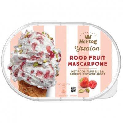 Hertog IJssalon fruit mascarpone