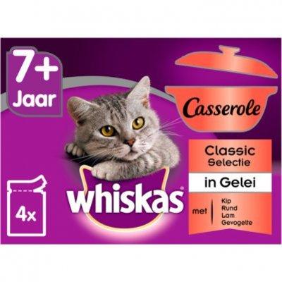 Whiskas Kattenvoer nat classic in gelei senior