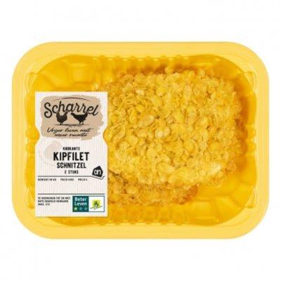 Huismerk Scharrel kip krokant kipschnitzel