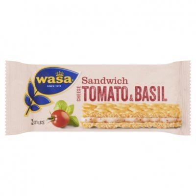 Wasa Sandwich cream cheese, tomato & basil