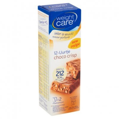 Weight Care Twaalfuurtje choco crisp