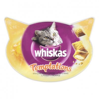 Whiskas Kattensnacks temptations kip & kaas