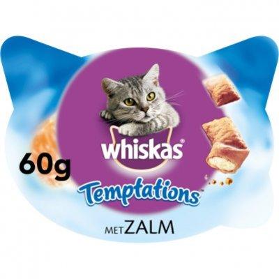Whiskas Kattensnacks temptations zalm