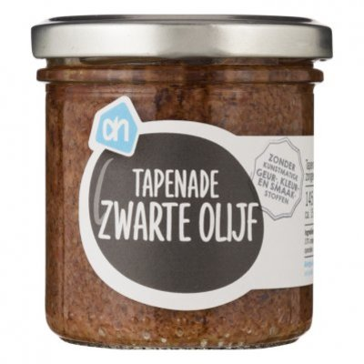 Huismerk Tapenade zwarte olijven