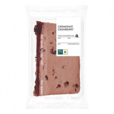 Huismerk Crèmepaté cranberry