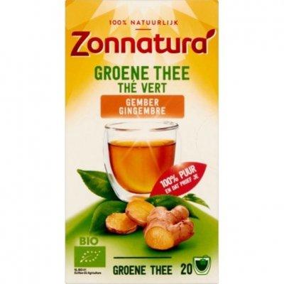 Zonnatura Groene thee gember