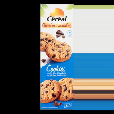 Céréal Glutenfree & Lactosefree Cookies met Stukjes Chocolade 9 Stuks