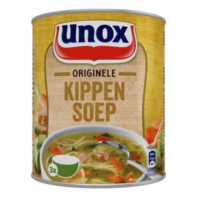 Unox Soep in blik originele kippensoep