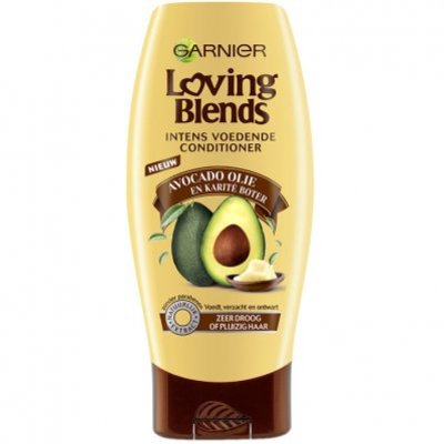 Garnier Loving blends avocado karité conditioner