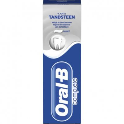 Oral-B Complete + anti-tandsteen tandpasta