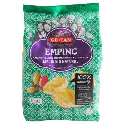 Go-Tan Kroepoek emping naturel melindjo